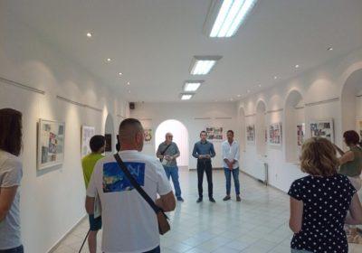 Изложба акварела академског сликара Бранка Јунгића отворена у Завичајном музеју у Градишци